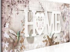 Kép - Home and Hummingbirds (1 Part) Beige Narrow