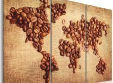 Kép - Kávé a világ minden tájáról - triptichon