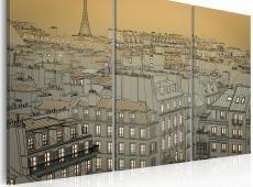 Kép - Last moment of the day - Paris