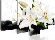 Kép - Lilies and zen stones