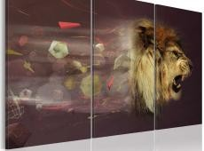 Kép - lion (abstract)