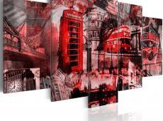 Kép - London kollázs - 5 db