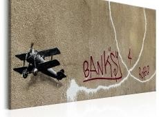Kép - Love Plane by Banksy