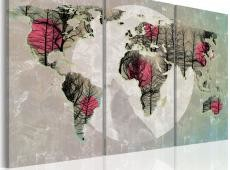 Kép - Map of the World: Telihold - triptych
