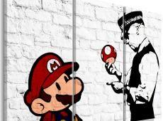 Kép - Mario Bros (Banksy)