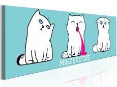 Kép - Miezekotze: Cat Trio (Blue)