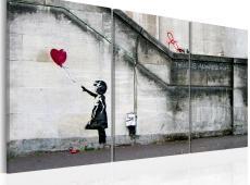 Kép - Mindig van remény (Banksy) - triptych