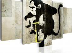 Kép - Monkey TNT Detonator (Banksy)