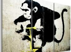 Kép - Monkey TNT Detonator by Banksy