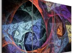 Kép - Mysterious colors abstraction