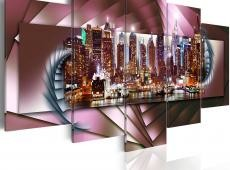 Kép - New York and fractal