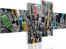 Kép - New York in a surprising color arrangement