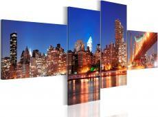Kép - Night panorama - NYC