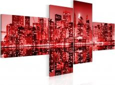 Kép - NYC - city in shades of redness