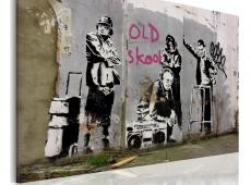Kép - Old school (Banksy)