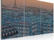 Kép - Paris - the city goes to sleep