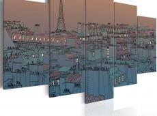 Kép - Paris - the darkness falls