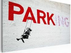 Kép - Parking (Banksy)