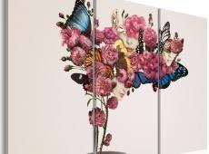 Kép - Pillangók, virágok és karnevál