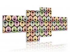 Kép - Pop art- colorful cans