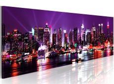 Kép - Purple sky over New York