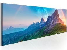 Kép - Rainbow in the Alps