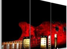 Kép - Red guitar