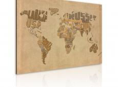 Kép - Régi térkép a világ