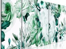 Kép - Rose Composition (5 Parts) Narrow Green