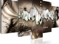 Kép - Sand, orchid, Zen