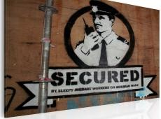 Kép - Secured (Banksy)