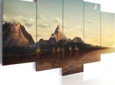 Kép - Sunrise a hegyekben