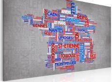 Kép - Szöveg megjelenítése: francia városok