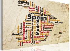 Kép - Szöveg megjelenítése: spanyol városok