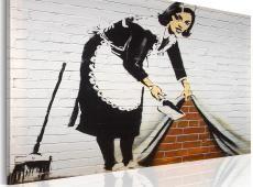 Kép - Takarítónő (Banksy)
