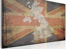 Kép - Térkép: Nagy-Britannia