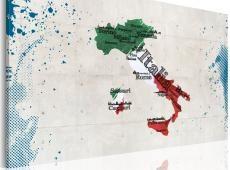Kép - Térkép Olaszország