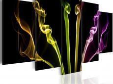 Kép - Többszínű csíkok - 5 db