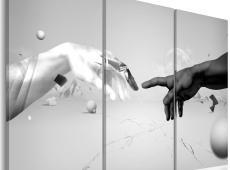 Kép - Touch fekete-fehér