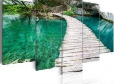 Kép - Turquoise lake