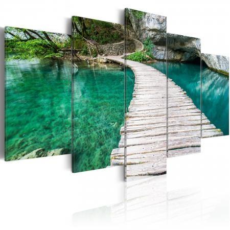 Kép - Turquoise lake_KK