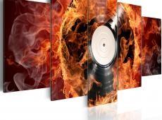 Kép - Vinyl on fire