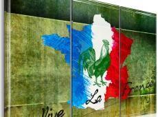 Kép - Vive la France - Triptych
