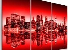 Kép - Vörös izzás át New York