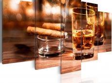 Kép - Whiskey and cigar