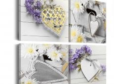 Kép - White hearts