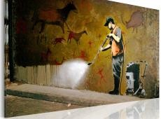 Kép - Whitewashing Lascaux (Banksy)