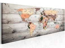 Kép - World Maps: Wooden Travels