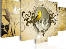 Kép - Yellow bird singing
