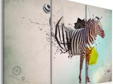 Kép - zebra - abstract